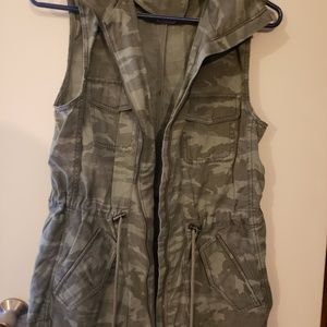 Maurice's camo style vest